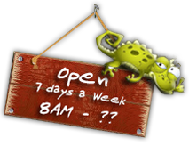 Open 7 Days a Week 8am - ???