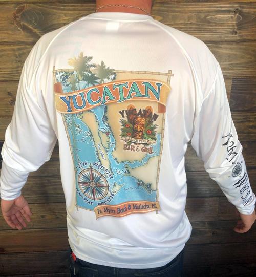 Map-Shirt-Fort-Myers-Beach-Yucatan-Store