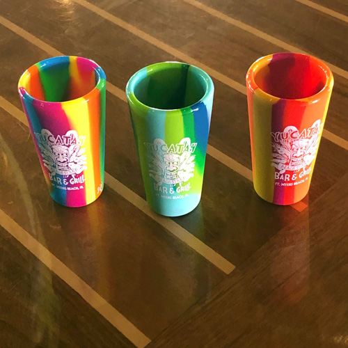 Yucatan-Beach-Stand-Store-Sili-SHot-Glasses-Fort-Myers-Beach